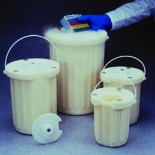 Thomafluid DEWAR-Gefäß aus XLPE-Plastic, Inhalt: 4 l, Abmessung ØxH (innen): 165 x 290 mm, Höhe: 355 mm