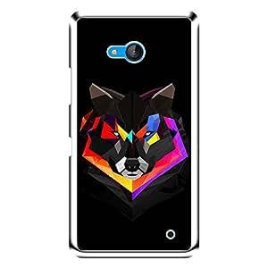 "Bhishoom Designer Printed 2D Transparent Hard Back Case Cover for ""Microsoft Lumia 640"" - Premium Quality Ultra Slim & Tough Protective Mobile Phone Case & Cover"