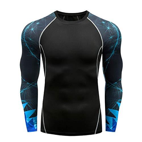 DOLDOA Herren Kompression Funktionswäsche Sportbekleidung Set Gym Fitness Bekleidung für männer