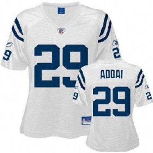 NFL Football Trikot/Jersey Damen/Women INDIANAPOLIS COLTS Addai #29 white in M (MEDIUM)