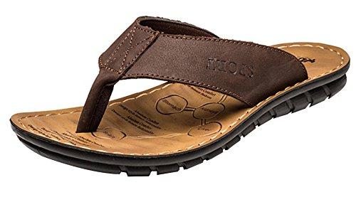Lukis Sommer Sandalen Slipper innen & Outdoor-Flip Flops Braun