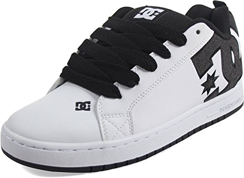 DC Shoes Men's Court Graffic Se Low Top Shoes