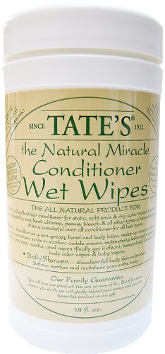 Tate'S The Natural Miracle Conditioner Wet Wipes 18Oz by Tate's The Natural Miracle