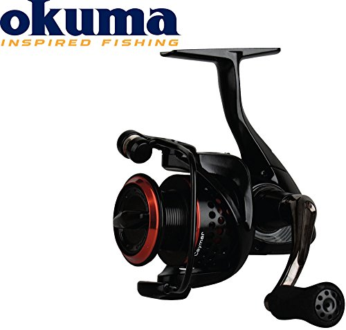 Okuma Ceymar XT CXT-35 Rolle - 195m 0,25mm Schnurfassung Angelrolle, Spinnrolle, Rolle für Hecht, Zander, Barsch, Forellen