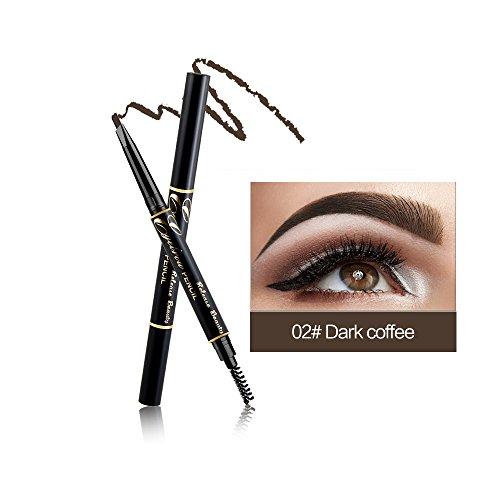 RELEASE BEAUTY Crayon sourcils rétractable imperméable à l'eau Long Eyeing café foncé numéro 2