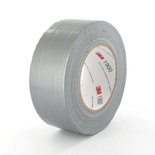 3M Economy Gewebeband 1900, 50 mm x 50 m, silber 1900SI50
