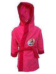Idea Regalo - Disney Accappatoio Bimba con Cappuccio microspugna Principesse Art. 197 (7/8 Anni)