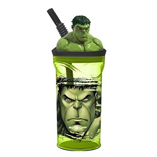 Boyz Toys St394 Figurine 3D gobelets - Hulk, Vert