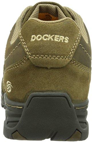 Dockers 352261-017056, Scarpa classica stringata, modello Derby Uomo Grigio (Grau (stone  056))