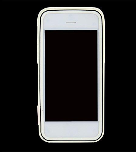 iPhone SE Case - All4you 2 Pcs nouveau Gel de silice unique Style Shell cas couvrir la peau protecteur pour iPhone SE  5  5G (gris) gris