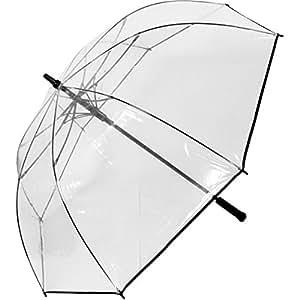 parapluie de golf automatique taille xxl 124 cm de diametre transparent bagages. Black Bedroom Furniture Sets. Home Design Ideas