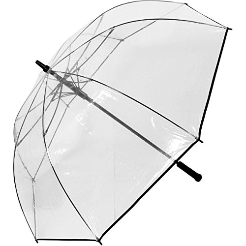 Golfschirm Automatik XXL 124cm - transparent extra gross