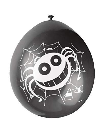 Unique Party Supplies 22,9cm Latex Spider Halloween Luftballons, ()