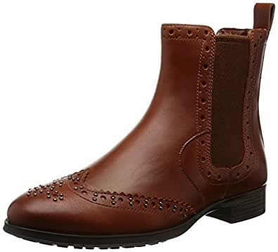 Clarks Women's Busby Holly Beige Boots - 3.5 UK/India (36 EU)