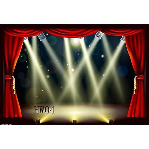 Sottile in vinile Studio Stage fondale CP fotografia prop foto sfondo 2,1x 1,5m hw04