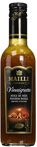 Maille Vinaigrette Huile de Noix Et Poivron Rouge 360ml - Lot de 3
