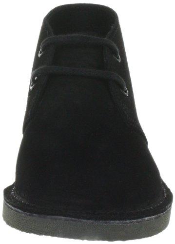 Clarks Originals Desertboot Boy, Chaussures montantes mixte enfant Noir (Black Sde)