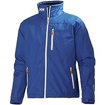 Helly Hansen Crew Midlayer Jacket - Chaqueta para hombre, color azul, talla S