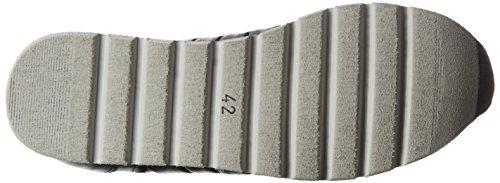 Mjus Herren 368101-0201 Low-top Schwarz (nero+nero+nero+blu+argento)