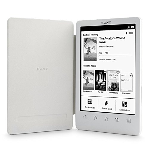 Sony Reader (PRS-T3/WC). Weiß: Kompakter und sehr leichter E-Book Reader mit integriertem Einband (Prs Hardware)