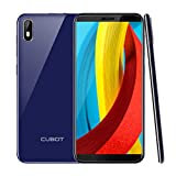 CUBOT J5 Dual SIM Smartphone 13,97cm (5,5 Zoll) IPS Capacitive Touch Display, 2GRAM+16GROM, 2800mAh Akku, Android 9.0 Oreo, Handy Ohne Vertrag, Face ID, GPS (Blau)