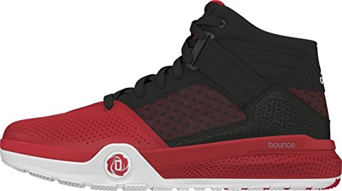adidas , Baskets pour homme noir/rouge