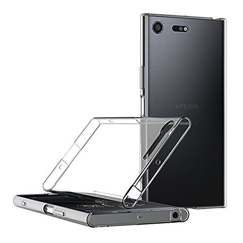 SONY XPERIA XZ PREMIUM Hülle, Digital Bay [Liquid Crystal] Soft Flex Silikon [Space Crystal] Semi Transparent Ultra Dünn Schlank Bumper-Style Handyhülle Premium Kratzfest TPU Durchsichtige Schutzhülle für SONY XPERIA XZ PREMIUM Case