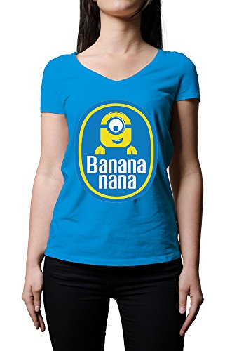 despicable-me-chiquita-bananas-inspired-minion-funny-logo-womens-v-neck-t-shirt-xx-large