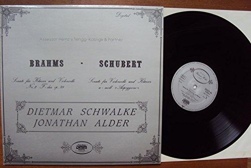 Sonate für Klavier und Violoncello Nr. 2 op. 99 und Sonate für Klavier und Violoncello Arpeggione. Dietmar Schwalke, Jonathan Alder. Digital Stereo