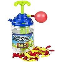 X-Shot - Bunch O Balloons Cubo 250 globos & adaptador bomba de agua (ColorBaby 42721)