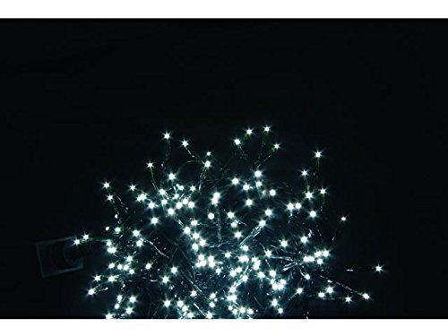 House of Fun Lot de 180 pour jeux de lumière LED avec intérieur Blanc