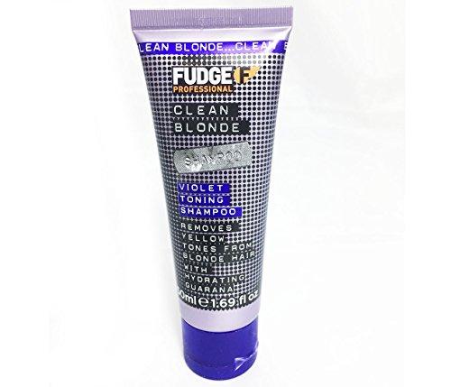 Fudge Professional Fudge Clean Blonde Violet Shampoo Mini, 50 ml