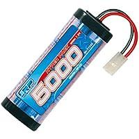 LRP Hyper Pack 5000 Níquel-metal hidruro (NiMH) 5000mAh 7.2V batería recargable - Batería/Pila recargable (5000 mAh, Níquel-metal hidruro (NiMH), 7,2 V, Azul)
