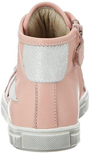 Lepi 3096LEQ, Sneaker alta bambina Pink (3096 C.25 Rosa)