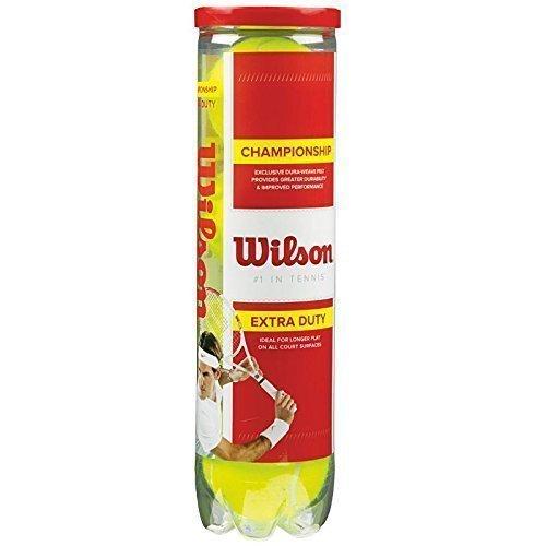 Wilson - Pelotas de tenis (pack de 4)