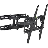 "VonHaus 05/060 23-56"" Double Arm Tilt & Swivel TV Wall Mount Bracket with Built-In Spirit Level for LED, LCD, 3D, Curved, Plasma, Flat Screen Televisions - Super Strong 45kg Weight Capacity"