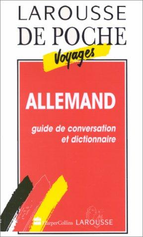 ALLEMAND. Guide de conversation et dictionnaire
