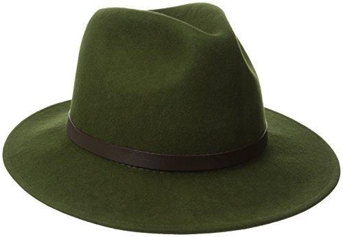 Kakadu Traders Australien Clancy Wollfilz Hat, Unisex, Loden, L Loden Green Wool