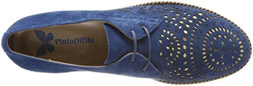 Pinto In Blu Damen Condor Derbys Blau (blu)