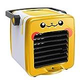 USB di Ricarica Multifunzione Portatile Aria condizionata Fan Home Frigorifero,Yellow