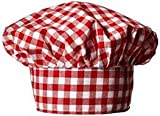 #8: Fancy Flight Chef Hat ( red and White Check ) (2-4 Years)