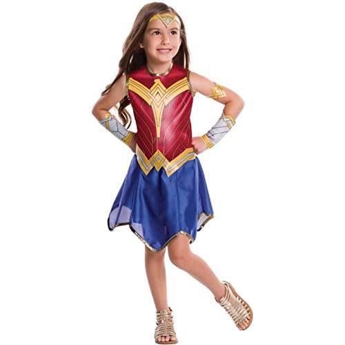 Rubie's-déguisement officiel -Wonder Woman -Déguisement Classique Wonder WomanTaille L7/8 Ans (117 à 128 cm)