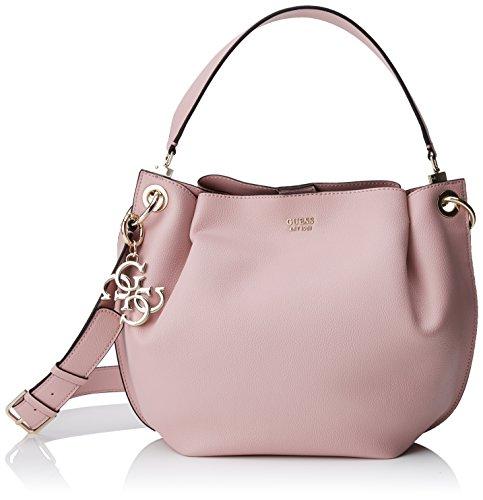 Guess Damen Bags Hobo Tornistertasche, Pink, 14.5x21x31 centimeters (Guess Hobo-handtasche)