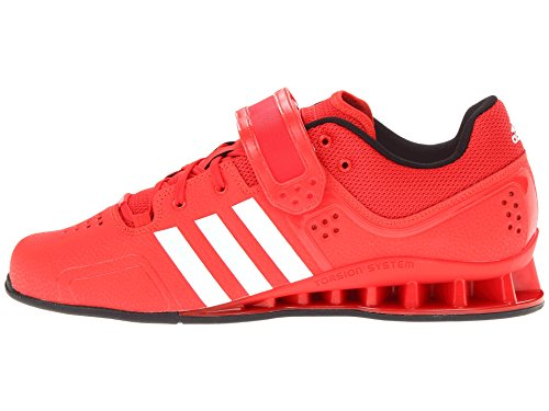 adidas Adipower, Chaussures Multisport Indoor Mixte Adulte Rouge