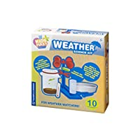 Thames & Kosmos 606114 Kids First Weather Science, Learn About Clouds, Rainbows, Thunderstorms and Lightning, Track The Temperature, 10 Experiments, Ages 5+