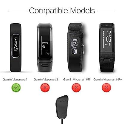 TUSITA-Ladegert-fr-Garmin-Vivosmart-4-USB-Ladekabel-Clip-Kabel-100cm-Activity-Tracker-Zubehr