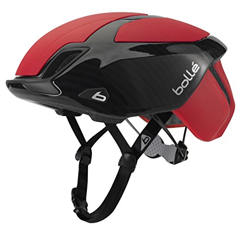 Bollé The One Premium Cascos Ciclismo, Unisex Adulto, Red Carbon, 54-58 Cm