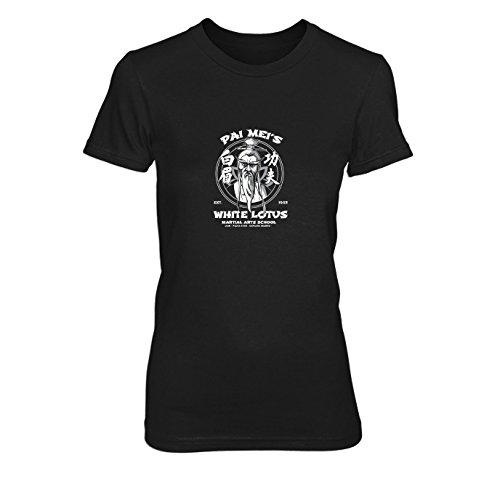 Pai Kostüm Mei - Pai Mei's School - Damen T-Shirt, Größe: M, Farbe: schwarz