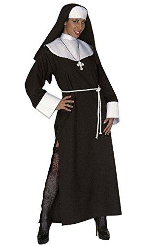 Zubehör Nonne (Widmann 44591 Erwachsenenkostüm Nonne Therese,)