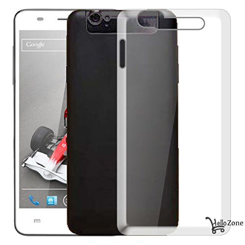 Hello Zone Exclusive Soft Transparent Crystal Clear Back Cover Back Case Cover For Xolo Q3000  available at amazon for Rs.129